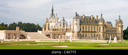 France, Europe, Villandry, Picardy, castle, world cultural heritage, park, - Stock Photo