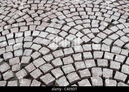 Close-up of pavement laying - Stock Photo