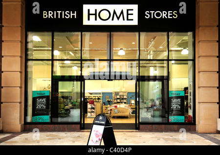 British Home B H S Shop Store Trafford Centre Uk United Kingdom Stock Photo Royalty Free Image
