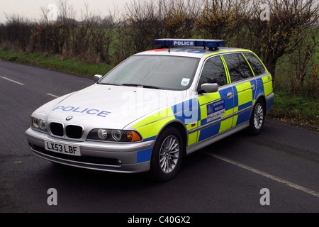 BMW tourer Traffic unit Metropolitan Police - Stock Photo
