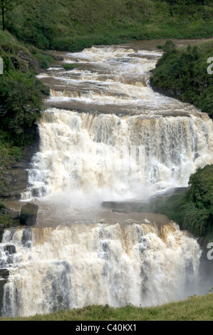 St. Clair's Falls Talawakele Central Highlands Sri Lanka - Stock Photo