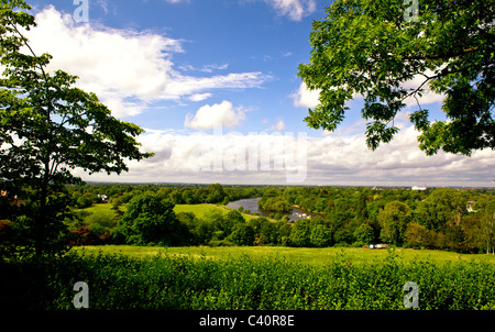 View from Richmond Hill;  Blick vom Richmond Hill - Stock Photo
