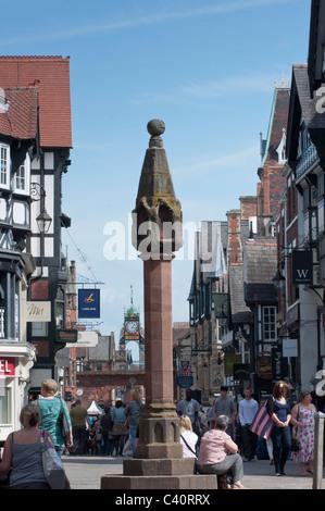 The Cross, Chester, Cheshire, UK - Stock Photo