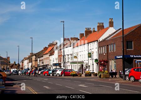 Northallerton High Street, North Yorkshire - Stock Photo