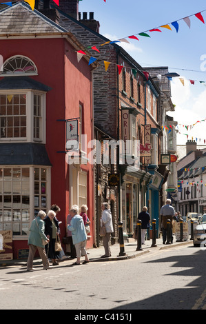 Cardigan town centre, Ceredigion Wales UK - Stock Photo