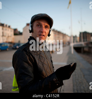 Welsh dancer and performance artist MARC REES, Wales UK - Stock Photo