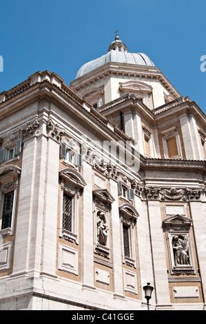 Basilica Santa Maria Maggiore, Rome, Lazio, Italy, Europe - Stock Photo