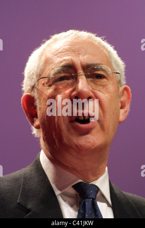 DAVID TREISMAN, Labour Party conference, in Glasgow, Scotland, 16th February 2003. - Stock Photo