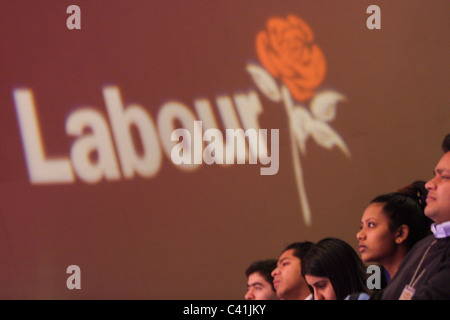 Labour Party conference, in Glasgow, Scotland, 16th February 2003. - Stock Photo