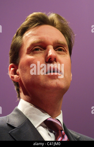 ALAN MILBURN, Labour Party conference, in Glasgow, Scotland, 16th February 2003. - Stock Photo