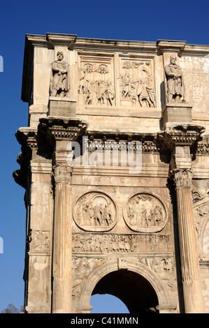 italy, rome, arch of constantine - Stock Photo