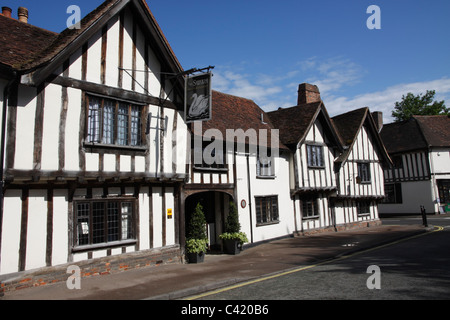 Swan Hotel Lavenham Suffolk - Stock Photo