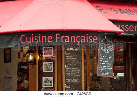 France paris quartier latin restaurant in rue de la for Restaurant cuisine francaise