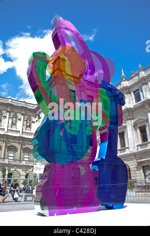 Coloring Book sculpture by Jeff Koons at Royal Academy of Arts Stock ...