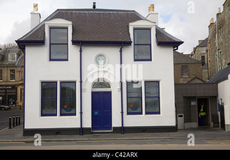 Lerwick Shetland Isles Scotland UK Harbour House a listed building once served as the harbour office - Stock Photo