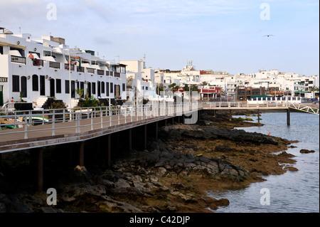 Old town puerto del carmen stock photo royalty free image - Lanzarote walks from puerto del carmen ...