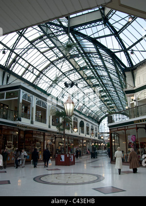 The Wayfarers Arcade Lord Street Southport - Stock Photo