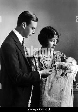 KING GEORGE VI QUEEN ELIZABETH QUEEN MOTHER PRINCESS ELIZABETH THE DUKE & DUCHESS OF YORK