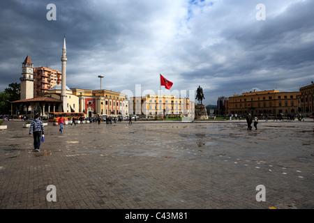 Albania, Balkans, Central Europe, Eastern Europe, European, Southern Europe, travel destinations, Architecture, - Stock Photo