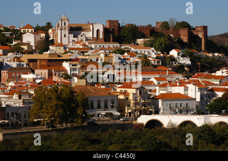 Portugal. Silves. Overview. Algarve. - Stock Photo