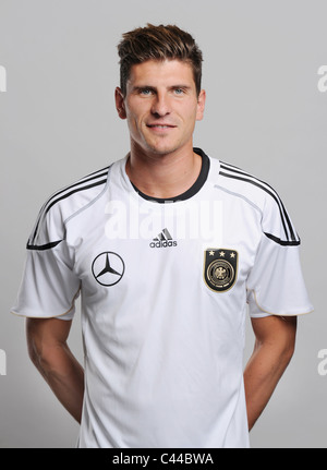 Mario GOMEZ, national football / soccer Team Germany - Stock Photo