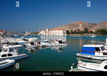 Trogir panorama, Croatia - Stock Photo