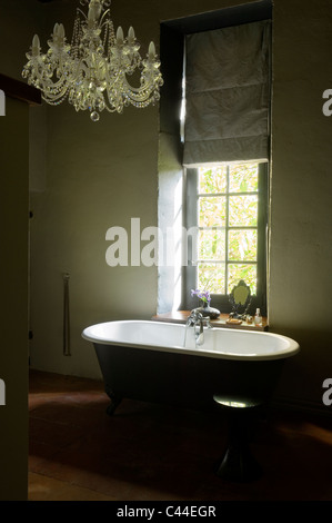 Luxury bathroom in the french style in the house bath white retro ...