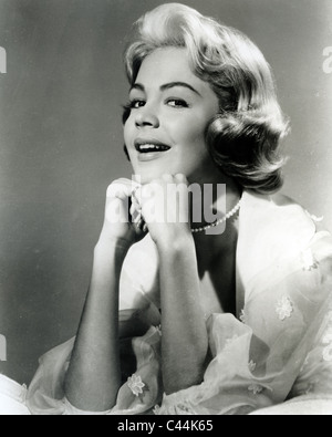 SANDRA DEE US actress Stock Photo: 4390477
