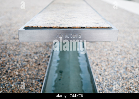 The Pentagon Memorial Is In Remembrance Of The Events Of September - Pentagon picnic table