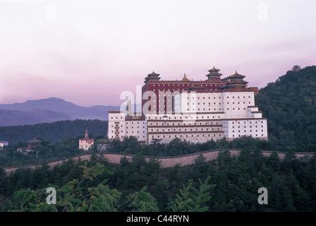 Asia, Chengde, China, Dawn, Doctrine, Hebei, Heritage, Holiday, Landmark, Potaraka, Province, Putuozongshengzhi - Stock Photo