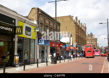 St Johns Rd in Clapham Junction - Stock Photo