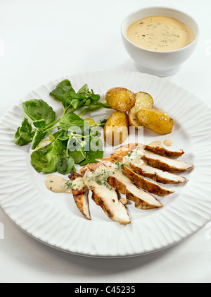 Close-up of mustard sauce (vertical Stock Photo, Royalty ...