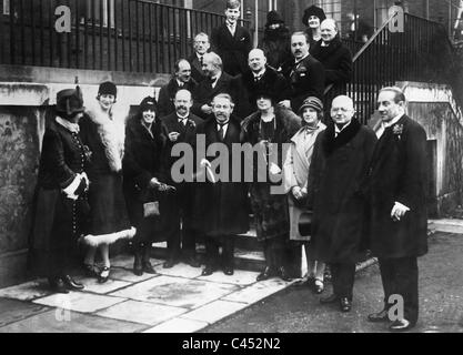 Signing Of The Locarno Treaties In London 1925 Stock Photo