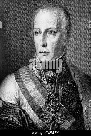 Emperor Francis II - Stock Photo