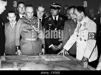 Franz Ritter von Epp opened the German Colonial Exhibition in Dresden, 1939 - Stock Photo