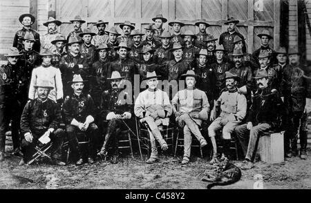 Theodore Roosevelt's 'Rough Riders', 1898 - Stock Photo