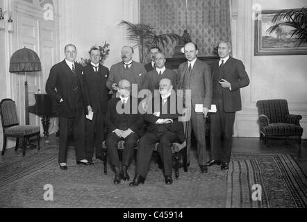 Admission of Germany into the League of Nations, 1926 - Stock Photo
