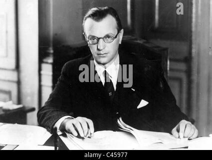 Arthur Seyss-Inquart, 1938 - Stock Photo