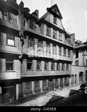 The goethe house frankfurt am main hesse germany in the for Liebfrauenberg frankfurt