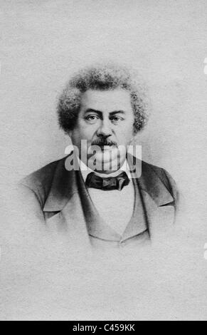 Alexandre Dumas the elder - Stock Photo