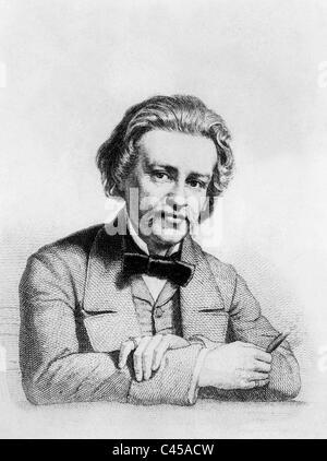 Albert Emil Brachvogel - Stock Photo