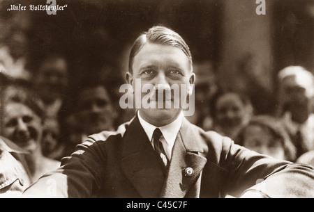 Adolf Hitler , 1933 Portrait - Stock Photo