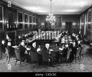 Palestine Conference in London, 1939 - Stock Photo