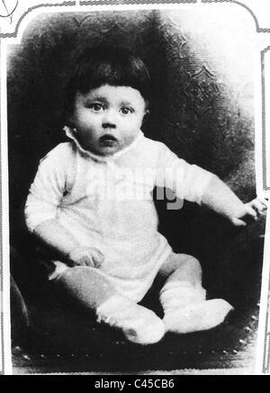 Hitler as a baby - Stock Photo