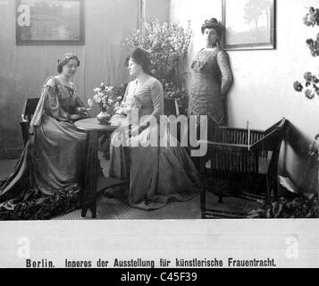 Ladies' fashion from 1904 - Stock Photo