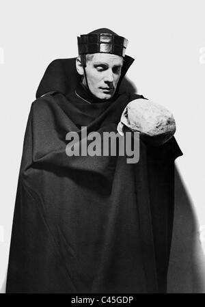 Gustaf Gruendgens in 'Hamlet', 1936 - Stock Photo