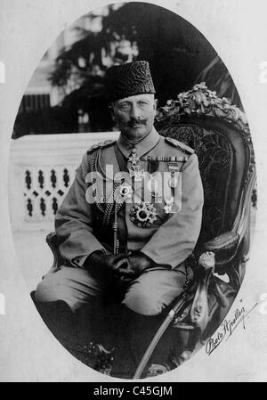 Emperor Wilhelm II., 1917 - Stock Photo