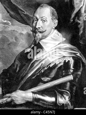 Gustav II. Adolf of Sweden - Stock Photo