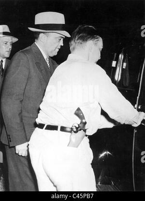 J. Edgar Hoover, 1938 - Stock Photo