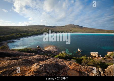 View across Lucky Bay. Cape Le Grand National Park, Esperance, Western Australia, Australia - Stock Photo
